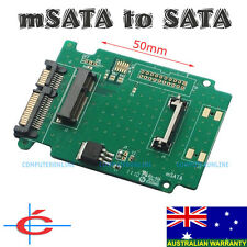 mSATA PCI-E PCIE SSD 50mm to 2.5-inch SATA Adapter Converter for Laptop Notepad