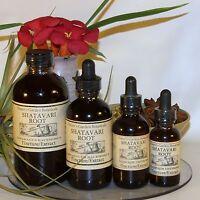 Organic SHATAVARI ROOT Tincture liquid Extract  ~ Rejuvenating 4sizes