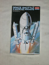 ACADEMY SPACE SHUTTLE & BOOSTER ROCKETS  1:288 MODEL KIT - NEW (FREE UK P&P)