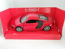 Welly NEX Scale model car**Audi R8 V10** Red **1:34