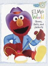 Elmo's World: Shoes, Hats and Jackets (Coloring Book) by Sesame Street