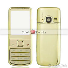 New Metal Full Back Housing Fascia Cover Case For NOKIA 6700C 6700 Classic Gold