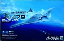 Freedom Model 1/48 US Navy X-47B UCAS Bomber