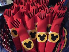 Mickey Mouse Minni Mouse Napkin Rings Party Decoration  Supplies