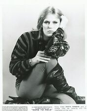 Patti Hansen Foto B/N 20x25cm - Press Photo B/W 8x10 (Film Hard To Hold) 1984