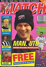 MAN UTD / LIVERPOOL / NEWCASTLE / MIDDLESBRO Match Aug 5 1995