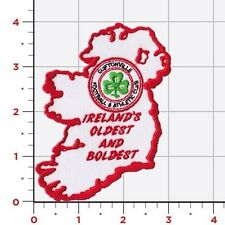 Cliftonville Fc Belfast Ireland Sew On Patch Badge