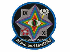 USAF UAV CIA Air Force Area 51 Black Ops Alone And Unafraid Desert Prowler Patch