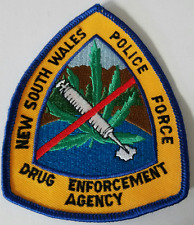 NSW New South Wales Police Force Drug Enforcement Agency Cloth Patch
