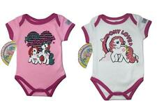 New 2pc LOT 0/3 months MY LITTLE PONY OUTFIT BABY TODDLER GIRLS BODYSUIT CREEPER