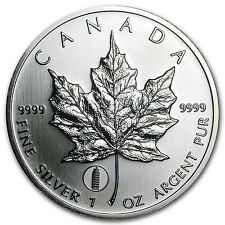 2012 1 oz Silver Canadian Maple Leaf - Leaning Tower of Pisa Privy - SKU #65914