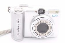CANON POWERSHOT A610 5MP 2''SCREEN DIGITAL CAMERA - SILVER