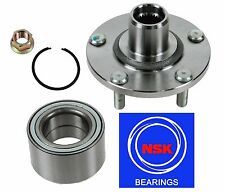 Front Wheel Hub & (OEM) NSK Bearing Kit fit Nissan Maxima 2000-2008