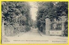 cpa Rare VIROFLAY (Yvelines) Rue de la SAUSSAIE Entrée du BOIS Maison Rasquin