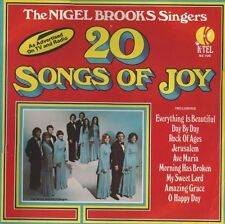 The Nigel Brooks Singers  ‎–  20 Songs Of Joy