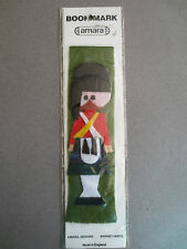 Vintage BOOKMARK Felt SCOTTISH Soldier in Kilt Unused in original packet