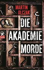 Die Akademiemorde von Martin Olczak, UNGELESEN