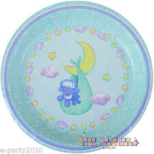 BABY SHOWER Welcome Little Lamb SMALL PAPER PLATES (8) ~ Party Supplies Dessert