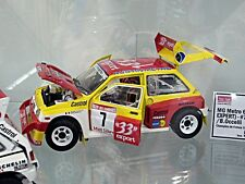 MG BL Metro 6R4 Gr.B Rallye Auriol #7 33 Export Champion France Sunstar 1:18