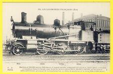 cpa Les LOCOMOTIVES FRANÇAISES (État) Train Gare Animée Collection F. Fleury