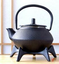 Star Trivet 125 & Cast Iron tea pot black hobnail 0.3L