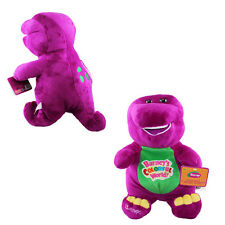 Barney Dinosaur 17cm 6.7'' Soft Plush Doll Toy with Music Song I LOVE YOU