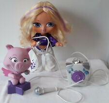 BIG BABYZ BRATZ DANCING KARAOKE SINGING DOLL WITH A DANCING PIG