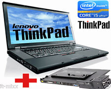 Lenovo Thinkpad T510 Core i7 2,6GHz 4GB  320gb 15,6zoll 1600x900 Wind10.WEB CAM