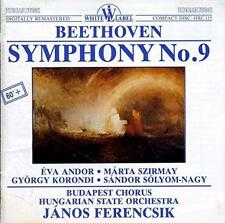 Beethoven: Symphony No. 9 w/ Artwork MUSIC AUDIO CD Janos Ferencsik Hungarian