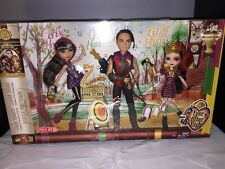 Ever After High Tri Castle On Set Cerise Hood,Lizzie Hearts, Hunter Dolls NEW!!