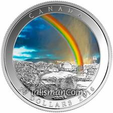 Canada 2016 Weather Phenomenon #3 Radiant Rainbow $20 Pure Silver Color Proof