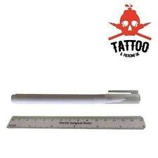 TATTOO / PIERCING Medical Skin MARKER / RULER set - Sterile measure marking pack