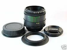 HELIOS 44-2 2/58 mm USSR LENS for CANON EF-S mount EOS T2i Kiss Rebel camera
