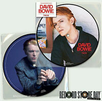 """DAVID BOWIE 7"""" TVC15  RECORD STORE DAY 2016 PICTURE DISC 40th Anniv. SEALED"""
