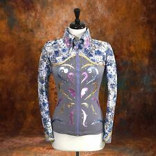 2X-SMALL  Showmanship Pleasure Horsemanship Show Jacket Shirt Rodeo Queen Rail