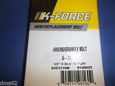 NEW K FORCE V BELT FITS ARIENS  SNOW BLOWERS  72114  B1SB8425 SB