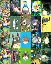 Cheap Hayao Miyazaki Totoro anime card affixed stickers affixed card 20