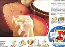 PUBLICITE ADVERTISING 014 1967 LA VACHE QUI RIT  Astérix et Obélix