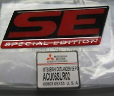 GENUINE MITSUBISHI EVO EVOLUTION LANCER OUTLANDER EMBLEM BADGE SE  ACU06SLR02