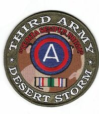 3rd Army Desert Storm Patch NEW