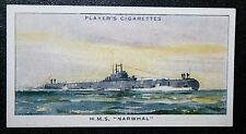 HMS NARWHAL   Royal Navy  Porpoise Class Submarine    Vintage Card  VGC