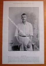 RARE Original Famous Cricketers, #294 Wilkinson, Nottinghamshire Cricket 1895