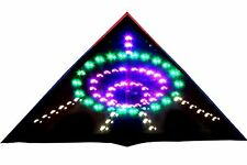 Hengda Kite 136 LED Night Kite Soft cloth UFO Flying Saucer Super Bright LED