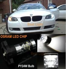 2x PY24W OSRAM LED No Error Turn Signal Light BMW E90 E92 E93 E70 328i 335i M3