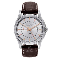 BRAND NEW Hamilton Jazzmaster GMT Men's Watch H32585557