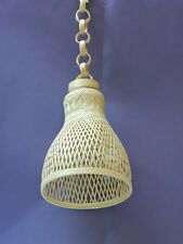 Handmade Decorative Cane Hanging Lamp Shade