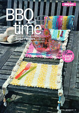 ~ Pull-Out Knitting Pattern For Alfresco BBQ Table Set ~ See Pics