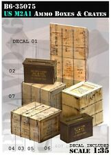 1/35 scale US army M2A1 Ammo boxes and crates - Vietnam era