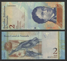VENEZUELA 2012 2 BOLIVARES CURRENCY P-NEW UNCIRCULATED  PORPOSE