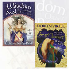 Wisdom Of Avalon & Angel Therapy 2 Oracle Cards Collection Pack